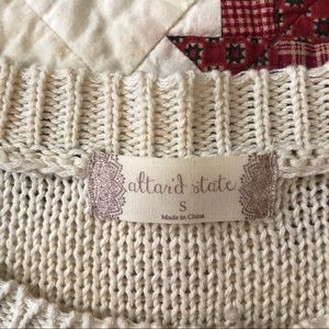 Altar'd State Sweaters - 🐝 Altar'd State cream Sweater/Top